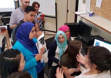 Mentoring at ArabWIC Girls Hackathon with emphasis on Refugees at AUB
