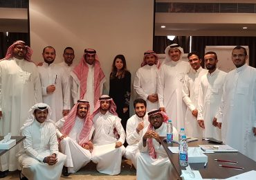 Corporate training: Entrepreneurship for young professionals at STC (Saudi Telecom Company)